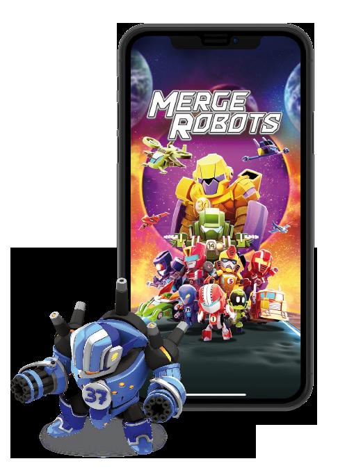Merge Robots Juego PlayShore