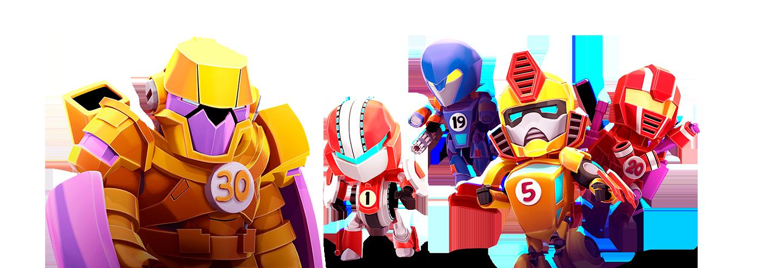 Merge Robots PlayShore