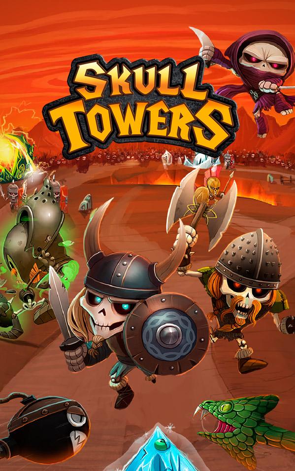 Skull Towers Juego PlayShore